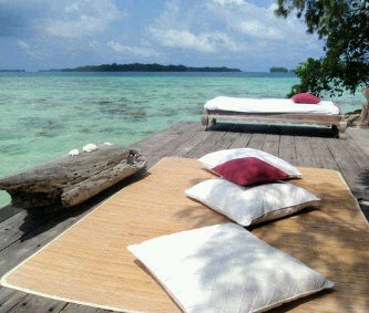 Tiger Island Eco Resort, Pulau Seribu, Indonesia.