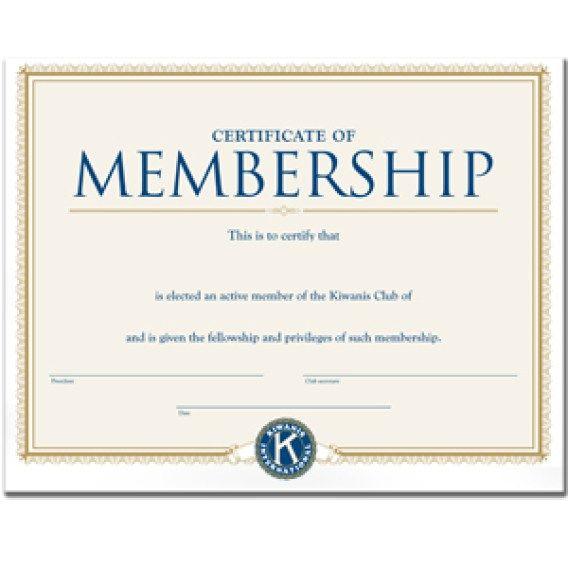 Membership Certificate Template 222 Certificate Templates