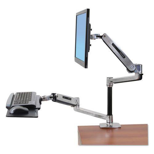 WorkFit-LX Sit-Stand Workstation Mount System