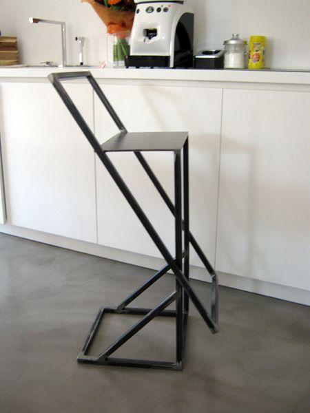 Arredi metallici Bologna Imola – sedie sgabelli in ferro acciaio ufficio sale d'aspetto -