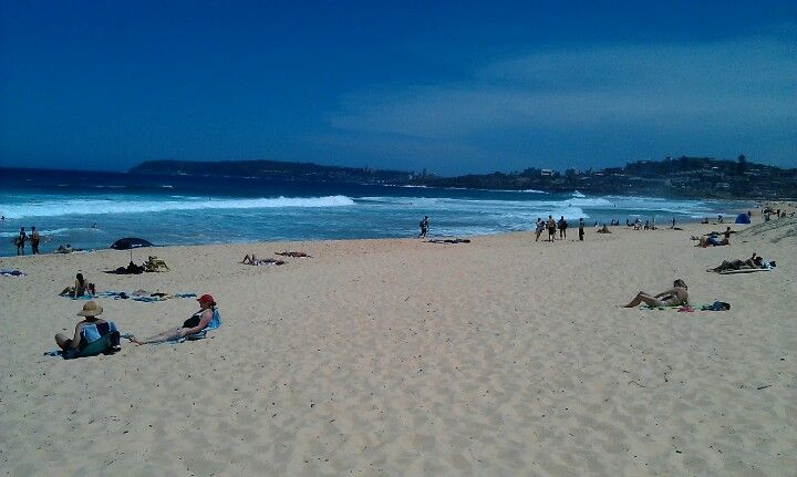 North Curl Curl Beach in Manly, NSW