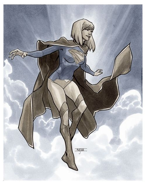 'New 52' Supergirl - Mahmud Asrar
