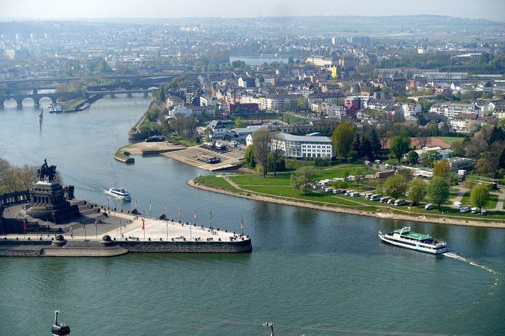 Koblenz Altstadt - unterwegs in der Stadt am Deutschen Eck.