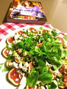 Carpaccio van vijgen met feta | Loopgekke keukenprinces