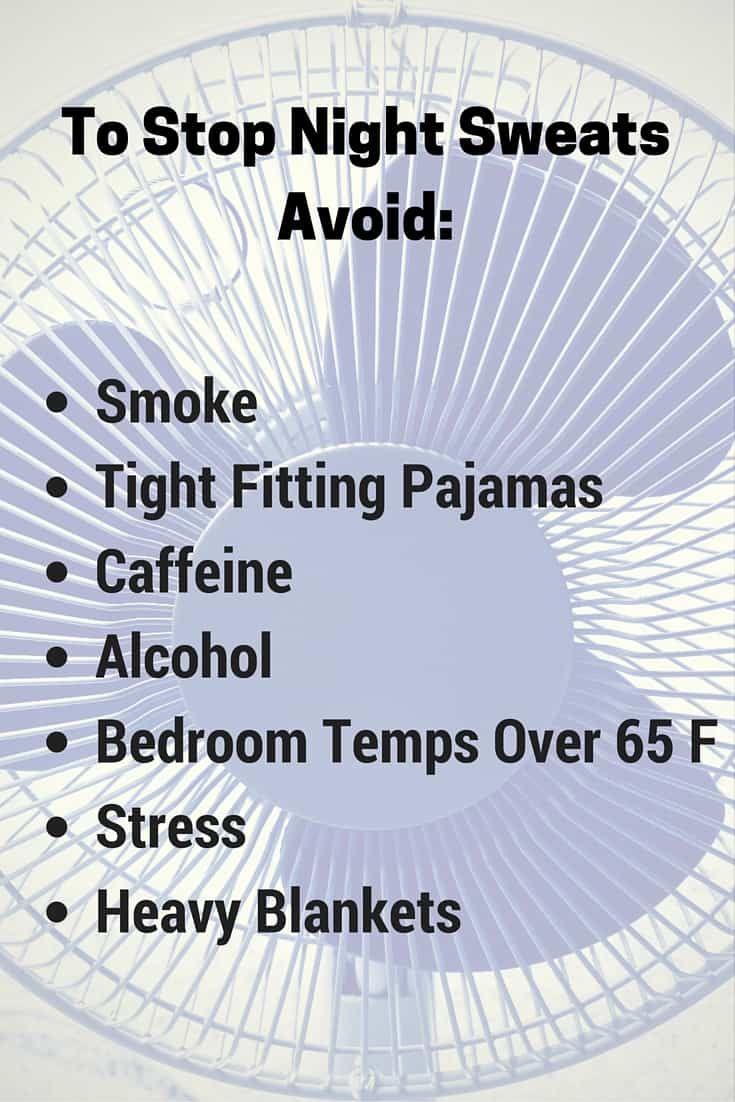 Night sweats? What you MUST do to sleep cool! | Night sweats, Night sweat  remedies, Sweat