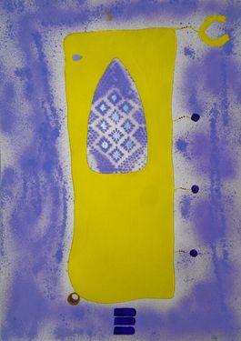 "Saatchi Online Artist ABBA ARTIST; Painting, ""Iron my Head"" #art"