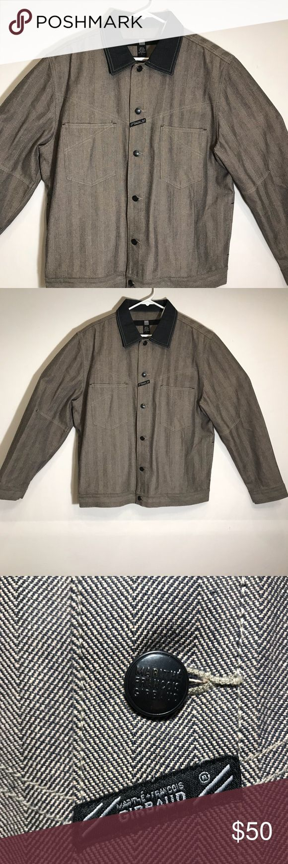 marithe francois girbaud vintage denim jacket marithe francois girbaud vintage denim jacket mens size large  gently used marithe francois girbaud Jackets & Coats