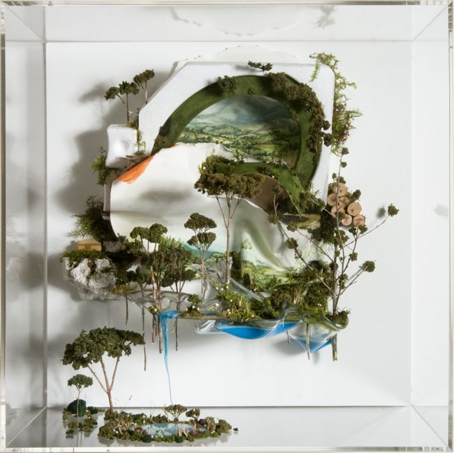 """""""Everything Falling Through A Window View"""" Gregory Euclide If Lori Nix is the De Vinci of miniature diorama, Gregory Euclide is the Picasso."""