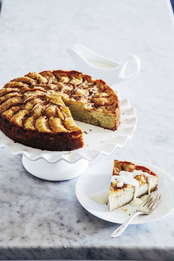 Swedish Apple Cake with Vaniljsås (Vanilla Sauce) | Charleston Magazine