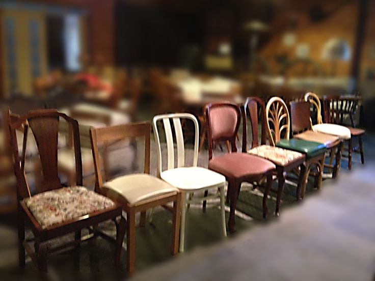 Create the ambience of yesteryear from our selection of  mix and match chairs