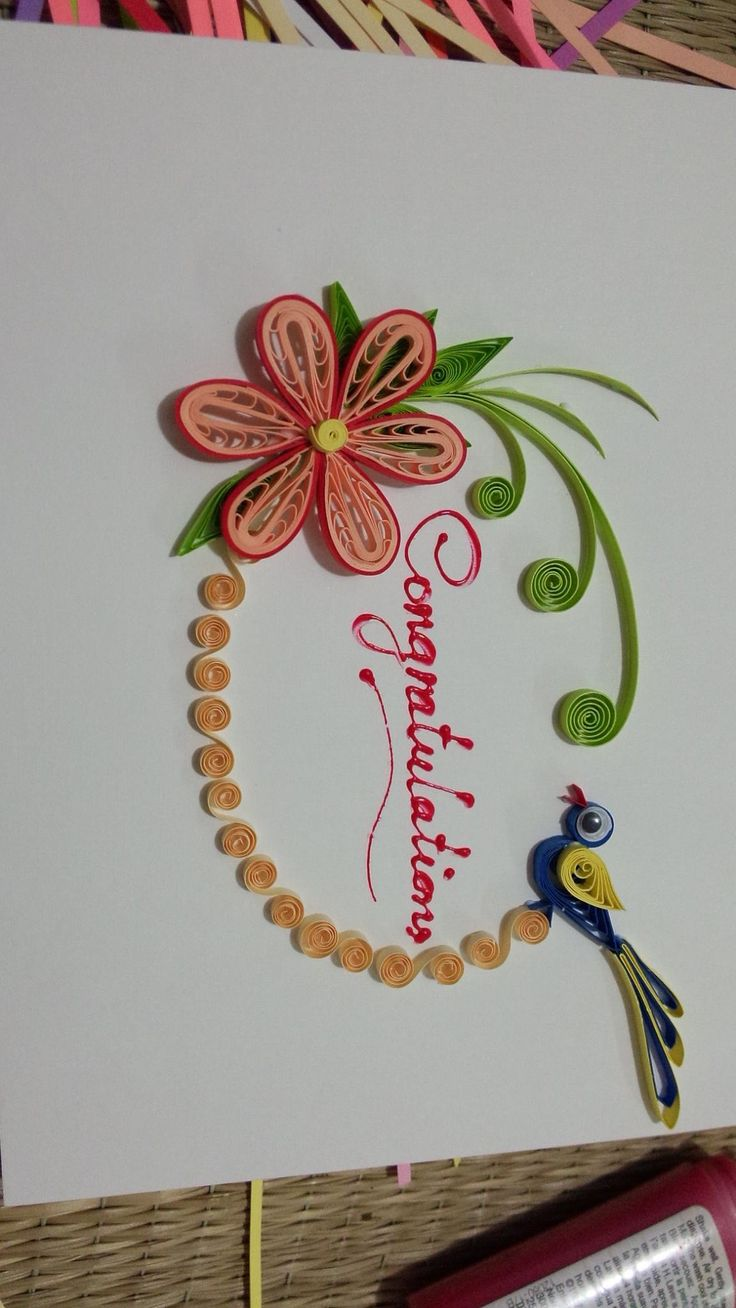 11 best cards about 8 mar and motherday 2 images on pinterest fiore con uccellino quilling craftquilling designsquilling flowerspaper quillingflower cardsinvitation cardsbirthday stopboris