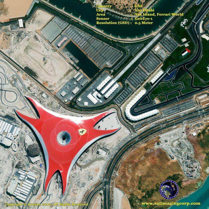 Ferrari World in Abu Dhabi Home to