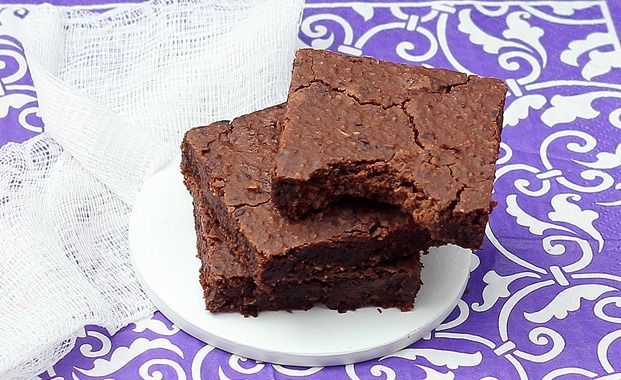 Black bean brownies (also vegan)