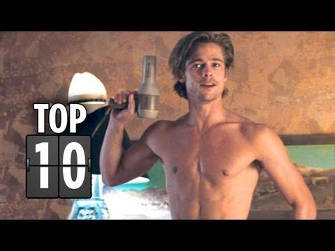 Top Ten Brad Pitt Movie Characters (that aren't Tyler Durden!) - Brad Pitt Movie List HD - YouTube