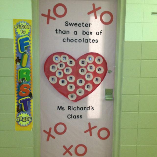 Door Decoration Of Class