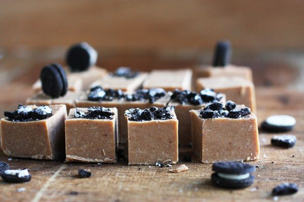 Microwave Caramel Fudge With Cookie Crumbs | @Sneh Roy | Cook RepublicCook Republic