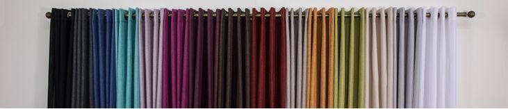 catálogo de #cortinas #confeccionadas con ollados. #valencia
