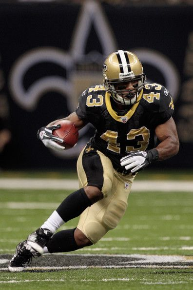 "Darren Sproles, my second-favorite New Orleans Saint because he is so little (only 5'6""!) but SEAUX GOOD! =) <3 Gives the rest of us short people hope!"