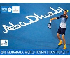 Tickets for Mubadala tennis final 31st December