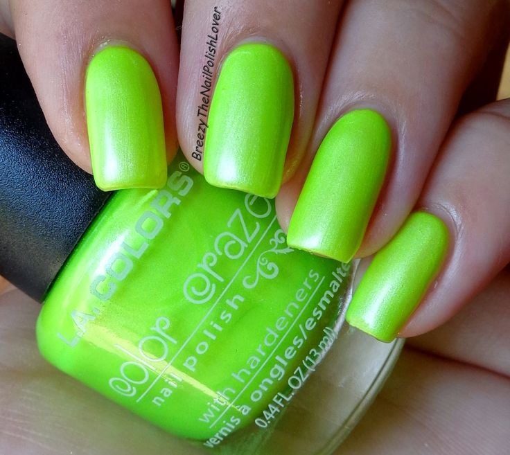 Whats on my Nails: L.A. Girl Color Crazy Nail Polish