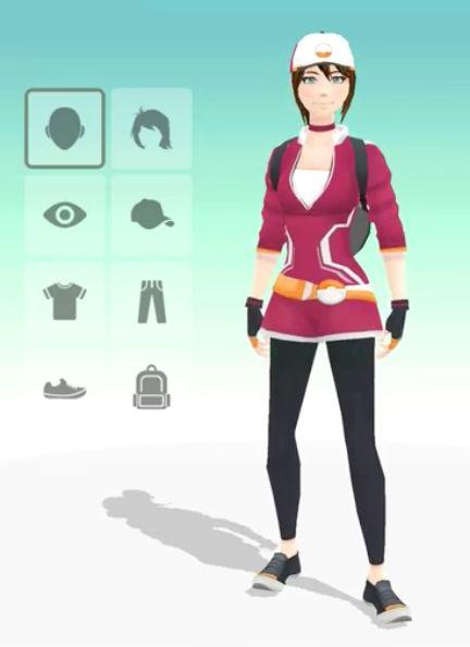 Pokemon Go Character Creator