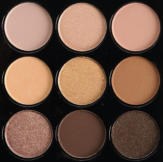 Makeup palette brown's and nude's