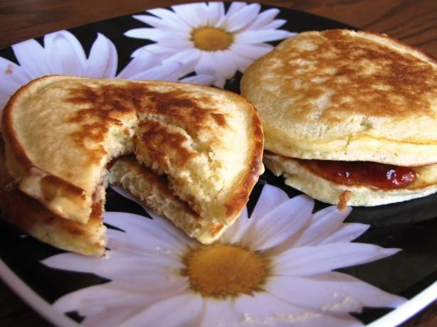 Easy Crumpets from Food.com: This is my mom's recipe for traditional SOUTH AFRICAN crumpets (little pancakes, or flapjacks). They are great for kids and they are melt in the mouth! My mom used to make a huge amount to send to school for birthdays - what a hit! They don't have yeast, so if you are looking for another type of crumpet, this isn't the recipe for you.