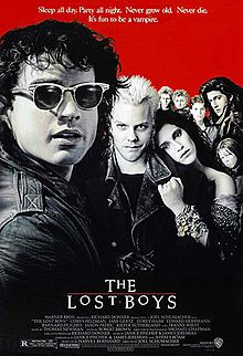 The Lost Boys: Grandpa: One thing about living in Santa Carla I never could stomach, all the damn vampires.   Share this quote