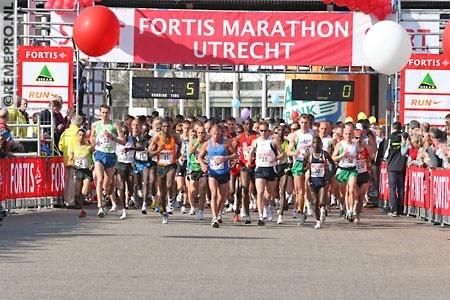 start Marathon Utrecht (2008 - 3:41u)