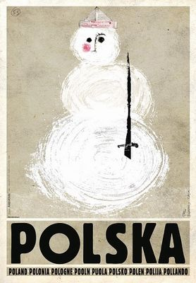 Polska, Zima - Balwan, Poland, Winter - Snowman, Kaja Ryszard