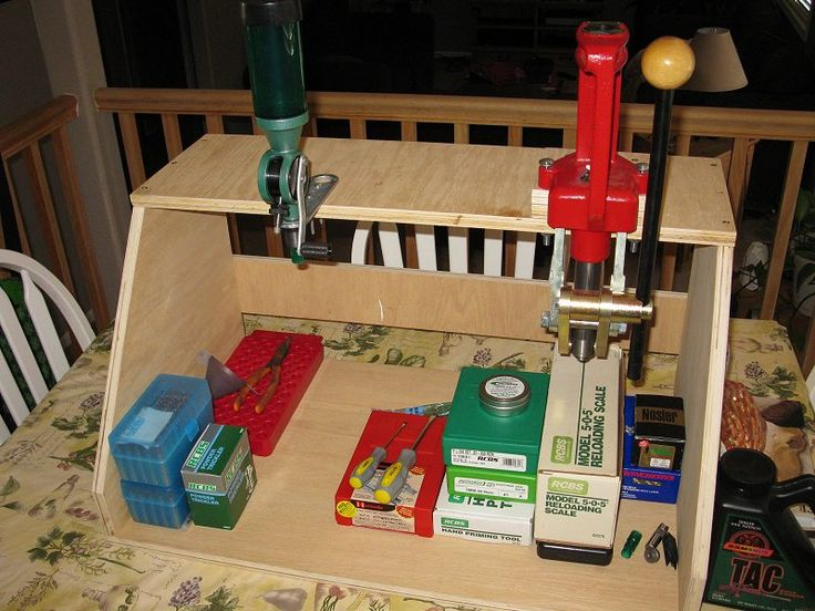 Home Made Tool Stations Portable Reloading Stand