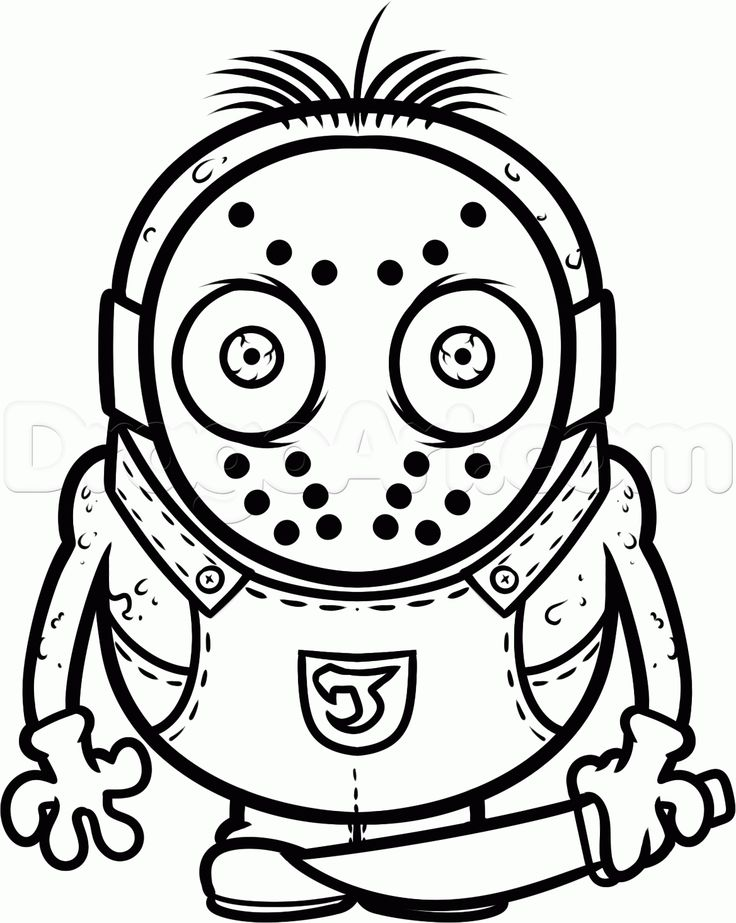 coloring pages of jason - photo#25