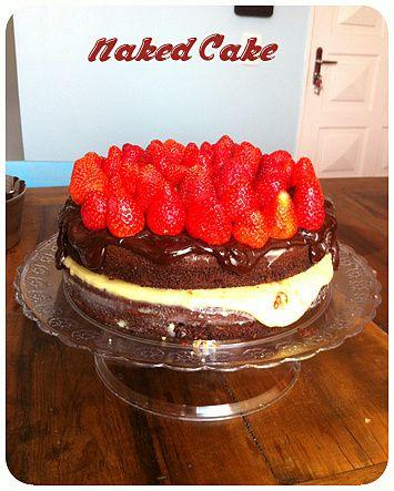 Naked Cake / Bolo Pelado