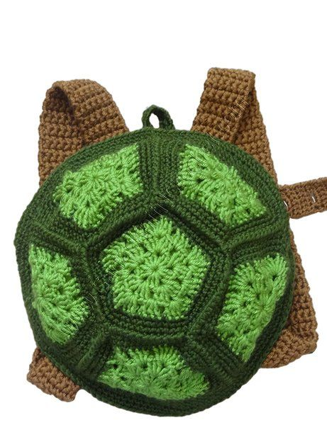 Crochet Handmade Turtle Backpacks for Boys and Girls 9 Months up | Rudelyn's Sari Sari Store