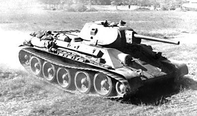 Medium tank T-34 Model 1941 / czołg średni T-34 Model 1941