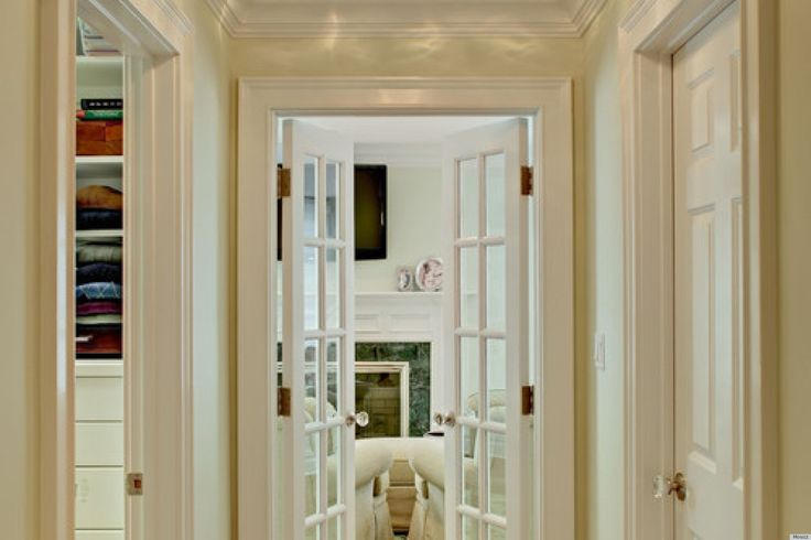 Narrow Double Doors Internal