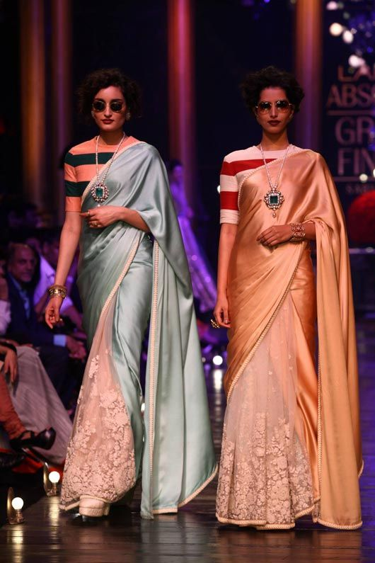 Sabyasachi..I think I just died and went to happen. The perfect balance between retro and femininity