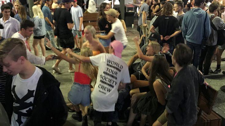 The 'real' Schoolies School-leavers stumble through night one - 9news.com.au #757Live