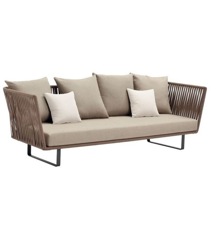 Kettal Bitta 3 Seater Sofa love this sofa - expensive though! Would it work paired with timber table and chairs?