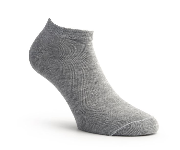 Soquete curto  Ankle socks Calcetín Invisible  Tamanho|Size|Talla 35/38 -39/42 - 43/46  Color: Light grey,Brown,Dark grey,Navy blue