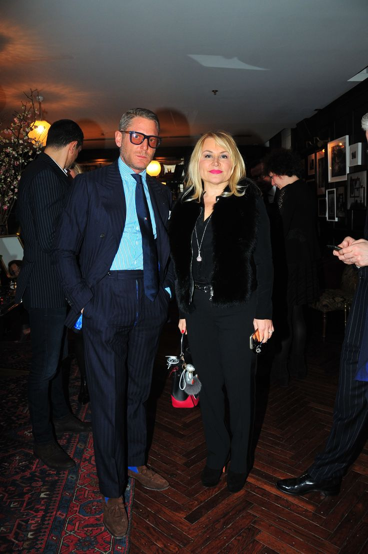 Lapo Elkan and Demet Sabanci at The PINKO Invasion event in Istanbul - Soho House