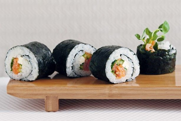 Learn how to make your own sushi at home, for variations on the recipe check out the notes.