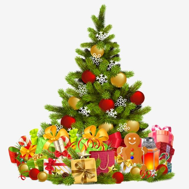 Christmas Tree Christmas Tree Png Transparent Clipart Image And Psd File For Free Download Christmas Decoupage Traditional Christmas Ornaments Christmas Tree With Gifts