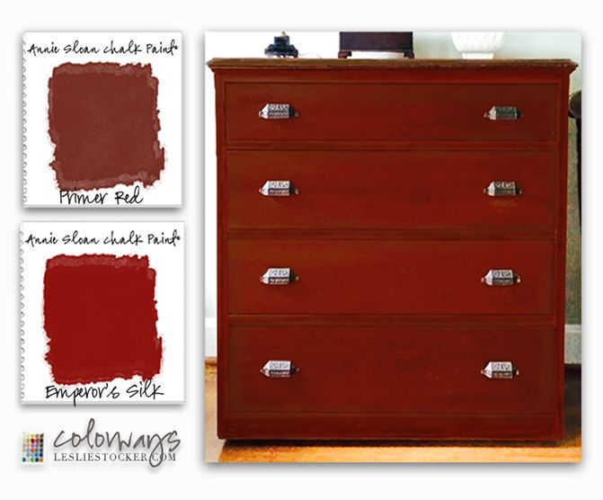 Best 25 Red Chalk Paint Ideas On Pinterest Red Painted