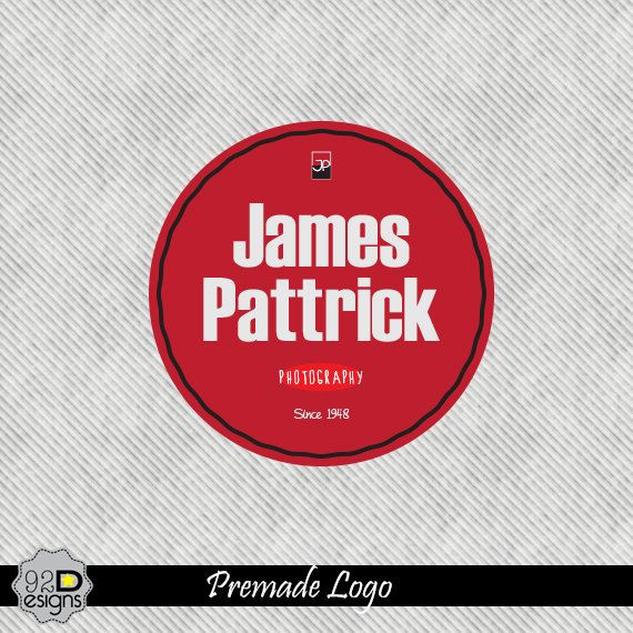 92 Premade logo Logo Design  customizable for Vintage by ONESMFA, $35.00