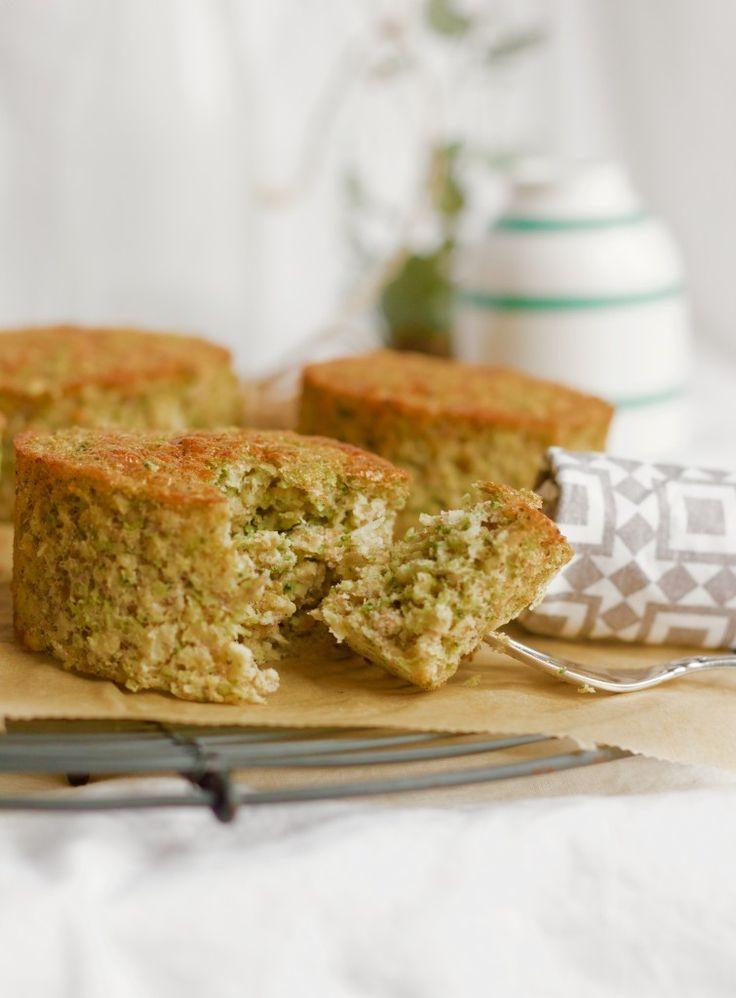 Grønne søde muffins