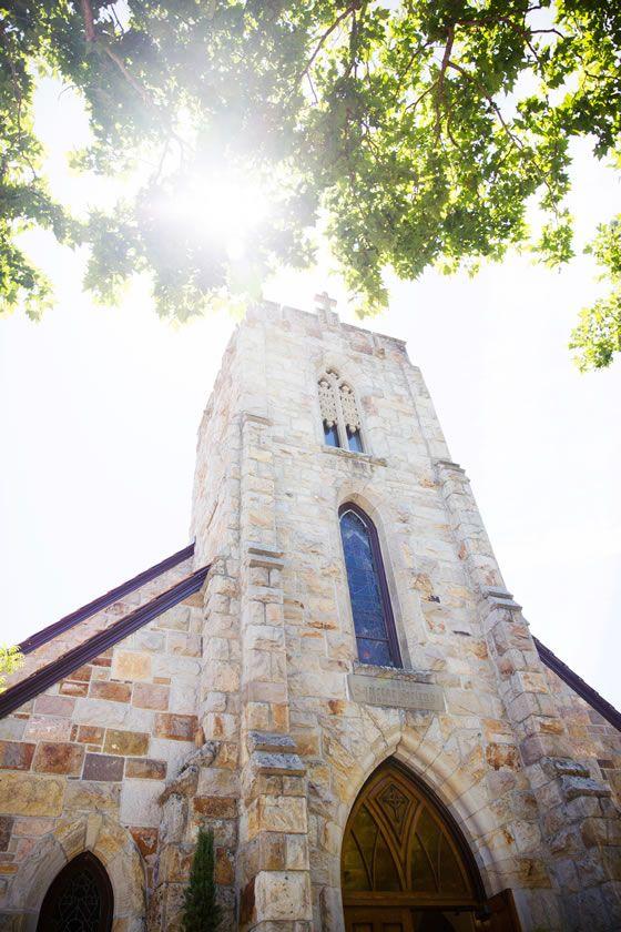 St. Helena Catholic Church. Gorgeous wine country wedding ceremony venue. Janae Shields Photography.