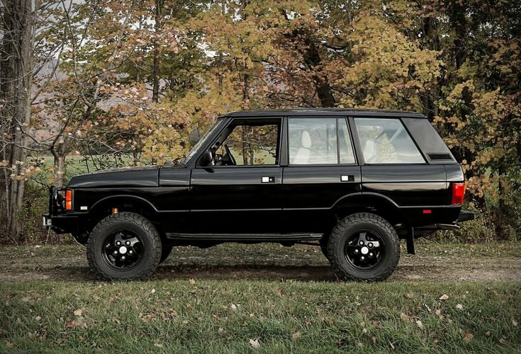 1995 Black Range Rover Classic SWB (With images) Range