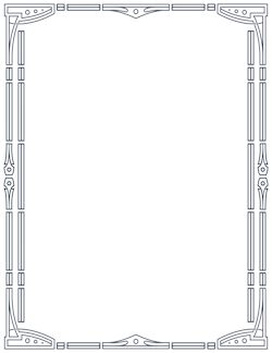 Page Borders and Border Clip Art