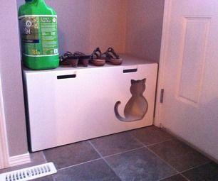 Kitty Litter box - Stuva Storage Bench